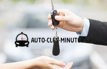 Double clés de voiture à domicile ou au lieu de travail