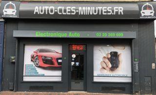 boutique auto cles minutes roubaix