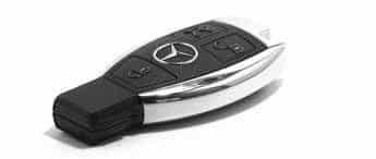 double clés réparation cles mercedes-benz BGA