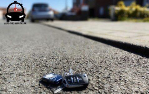 perte totale de clé de voiture